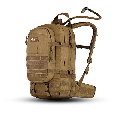 Source Assault Trinkrucksack, Coyote, 20 L + 3 L