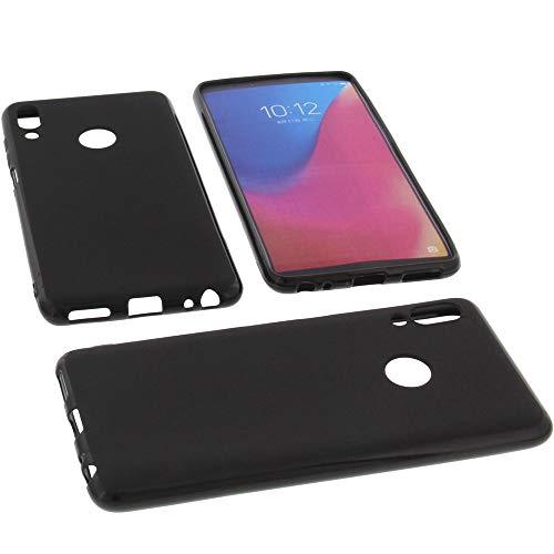 foto-kontor Funda para Lenovo K5 Pro Protectora de Goma TPU para móvil Negra