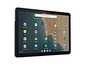"Lenovo IdeaPad Duet Chromebook 25,6 cm (10.1"") Mediatek 4 GB 128 GB Wi-Fi 5 (802.11ac) Blu, Grigio Chrome OS IdeaPad Duet Chromebook, 25,6 cm (10.1""), 1920 x 1200 Pixel, 128 GB, 4 GB, Chrome"