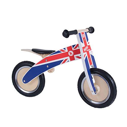 Kiddimoto - 916/601 - Vélo et Véhicule pour Enfant - Kurve Union Jack