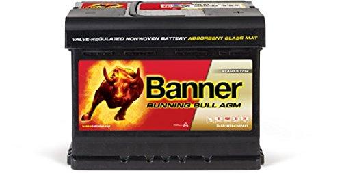 Banner–322/302–Batterie AGM Running Bull, 60Ah
