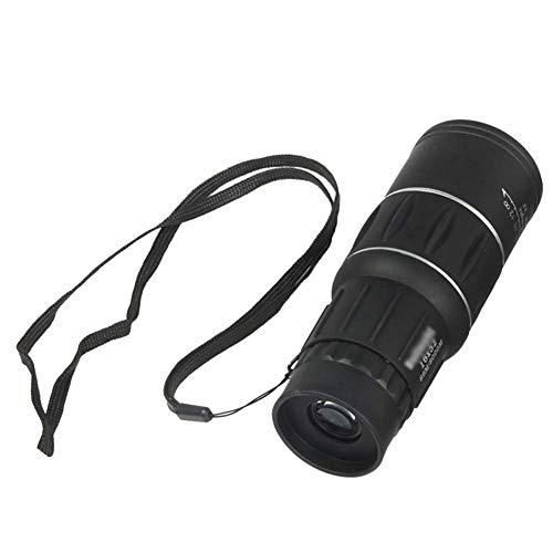 Monokulares Teleskop Dual Focus 16X52 Optisches Zoomobjektiv Fernglas Optisches Zielfernrohr Für Die Objektivjagd Outdoor-Zubehör (Color : A)