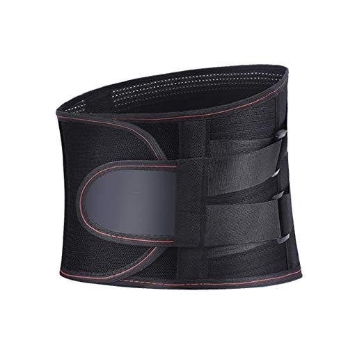 WCX Adaptación Cinturón de Soporte Lumbar Correa de Cintura Lumbar Cinturón de Presión...