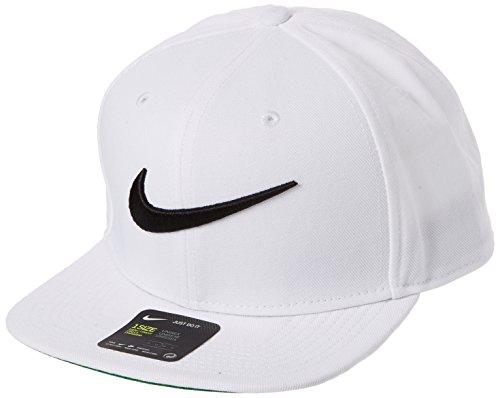 Nike Herren Swoosh Kappe Pro, white/pine green/black, One Size, 639534-100