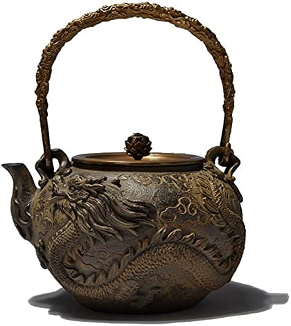 VCFR Japanese tetsubin Cast Iron Dragon Ranking TOP16 phoenix and Teapot patte safety