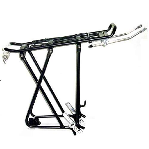 For Sale! GBZZ Aluminum Alloy Bicycle Rear Rack Adjustable Pannier Bike Luggage Cargo Rack Bicycle C...