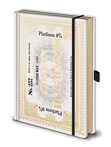 Harry Potter Premium Notizbuch Hogwarts Express Ticket