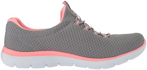 Skechers Damen Summits Sneaker, Grau - 6