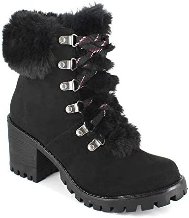 UNIONBAY Women's Combat Moto Chicago Mall Boot A Fashion Lug Bootie Fall Be super welcome