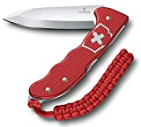 Victorinox Taschenmesser Hunter Pro Alox, Scharf, Extra starke Feststellklinge, Grtel-Clip, Rot