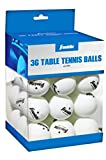 Franklin Sports 40mm Table Tennis Balls White - 36pk