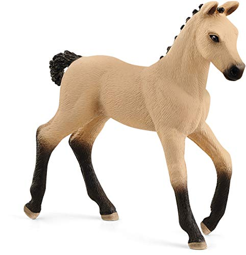 Schleich Horse Club, Animal Figurine, Horse Toys for Girls and Boys 5-12 years old, Hanoverian Foal, Red Dun