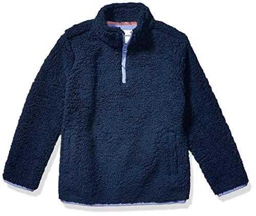 Amazon Essentials Quarter-Zip High-Pile Polar Fleece outerwear-jackets, Verwaschenes Marineblau, XX-Large