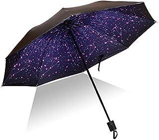 Paraguas de viaje al aire libre compacto a prueba de viento para hombre y mujer