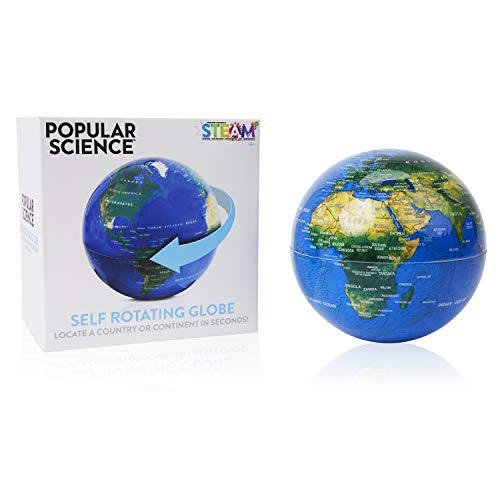 POPULAR SCIENCE Juguete Educativo con diseño de Globo Giratorio