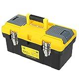 Tragbare Kunststoffwerkzeuge Box Brust Speicherorganisator Griff Fach Kits Toolbox Werkzeugkoffer Halter Container 14/17/19 Zoll (Size : 17 inch)