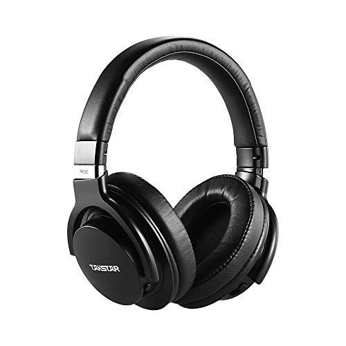ammoon Monitor Kopfhörer TAKSTAR PRO 82 Professional Studio Dynamischer Monitor Kopfhörer Headset Over-Ear für die Aufnahme Überwachung Musik Wertschätzung Spiel Spielen mit Aluminiumlegierung Fall