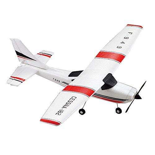 Avión de control remoto profesional 2.4GHz 3CH RC Glider Modelo de avión eléctrico recargable por USB Material de espuma EPP Juguete de drone a prueba de caídas para niños mayores de 14 años (Tamaño: