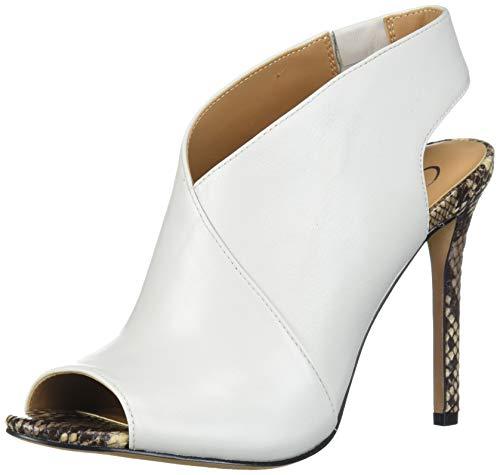 Jessica Simpson Women's Jourie2 Heeled Sandal, Off White/Ne, 6.5 M US