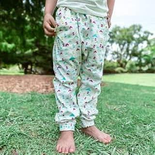 Dusty Road Apparel Organic Children's Pants   Baby   Toddler   Sprinkles Play Pant   Harem Pants