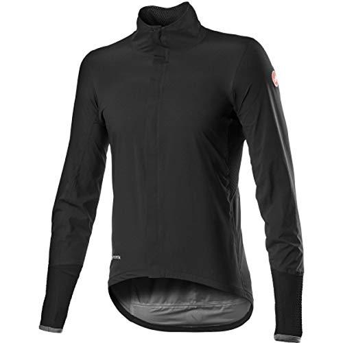 CASTELLI Gavia - Chaqueta deportiva para hombre, color negro, talla L