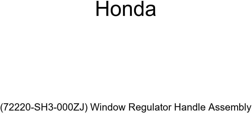 Genuine Honda 72220-SH3-000ZJ Very popular! Window Handle San Francisco Mall Regulator Assembly