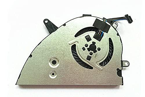 HuiHan Reemplazo para ventilador de refrigeración HP Pavilion 15-CW 15-CS Series CPU Cooler L25584-001 TPN-Q210
