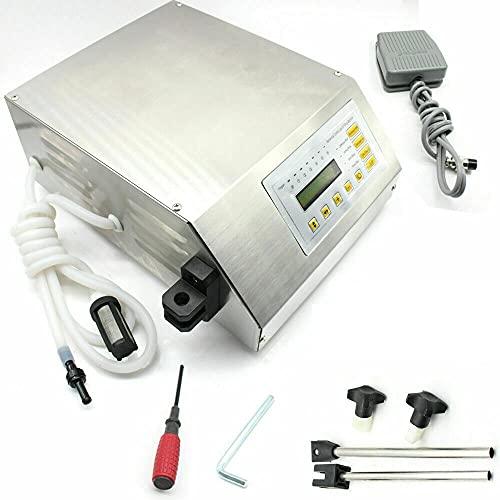 OUKANING Máquina de llenado de líquidos automática 2-3500Ml Máquina de llenado de sobremesa Máquina de llenado de líquidos LCD Digital 220V