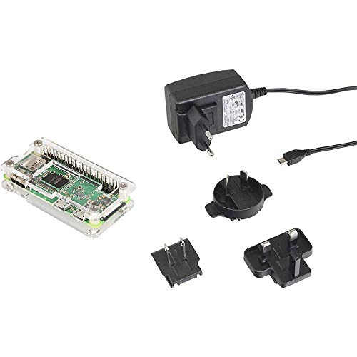 MAKERFACTORY Raspberry Pi® Zero WH 512 MB 1 x 1.0GHz incl. Alimentatore, incl. Case, incl. Noobs OS