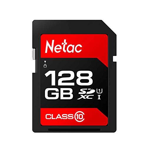 Cartão Memória 128GB SDXC 100MB/s Netac (128GB)