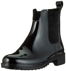 Rieker Damen P8280 Gummistiefel, Schwarz (schwarz/schwarz/schwarz 04), 39 EU