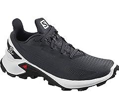Salomon ALPHACROSS Blast W, Zapatillas de Trail Running para Mujer, Gris (India Ink/White/Black), 36 2/3 EU: Amazon.es: Zapatos y complementos
