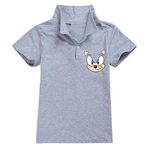 hengGuKeJiYo Kleinkind Sporthemden, 2020 Sonic Boy Kurzarmhemd Anzüge Niedliches Hemd Kinder Freizeitkleidung