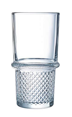 Luminarc N4511 - Vasos altos de 35 cl-cóctel Imperial, cristal templado, transparente