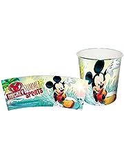 MICKEY - Papelera de plastico de Mickey Mouse