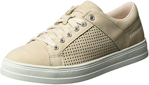 ESPRIT Damen Sidney Perf Lace Up Sneaker, Beige (Skin Beige 280), 40 EU