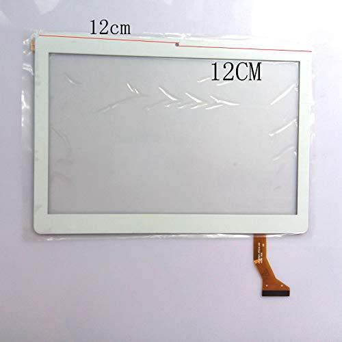 Blanco Color EUTOPING  De Nuevo 9.6 Pulgadas Pantalla tactil Digital La sustitución de para 10.1' Brigmton BTPC-1022 QC 3G