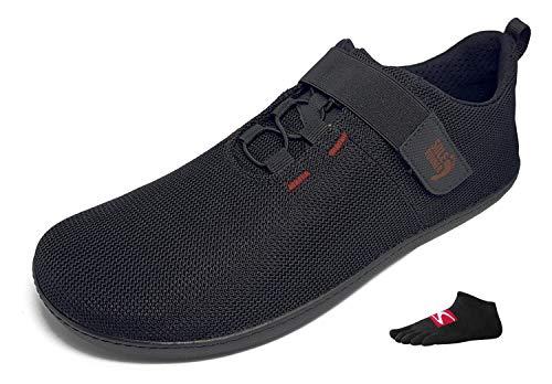 Sole Runner FX Trainer 5 - S E T - Unisex Barfußschuh inklusive einem Paar Zehensocken und Winter-Einlegesohlen