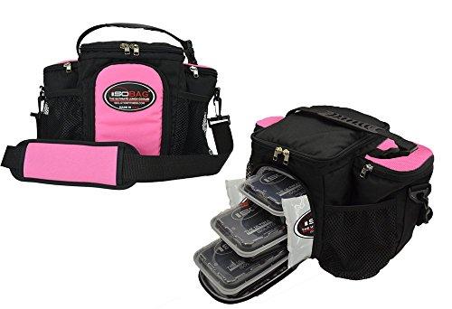 Isobag 3 Meal Management System (Pink/Black)