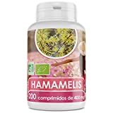 Hamamelis Orgánica - 400 mg - 200 comprimidos