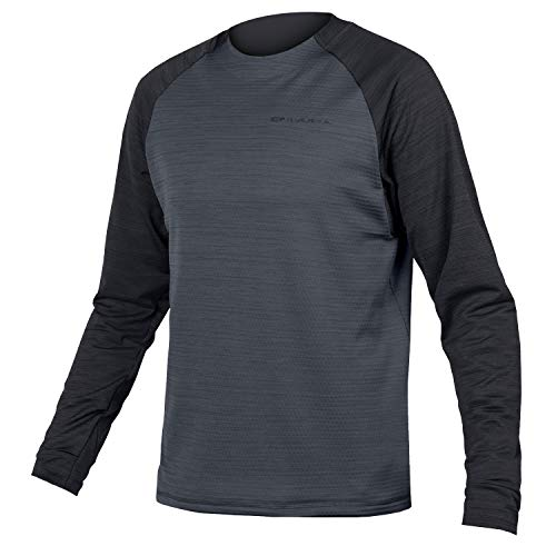 Endura Singletrack MTB Jersey Large Black