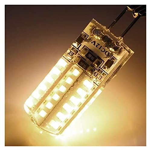 Lampada Mais 1. 0pcs. Mini G4 LED. Lampada 3W 6W 9W 12W Cob LED Lampadina DC AC 12V 360 Lampadario ad angolo del fascio Sostituire lampade alogene G4 (Color : G4 AC12V)