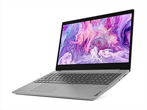 Lenovo IdeaPad Slim 3 10th Gen Intel Core i3 15.6 FHD Thin & Light Laptop (4GB/256GB SSD/Windows 10/MS Office/Intel UHD Graphics/Platinum Grey/1.7Kg), 81WB0158IN