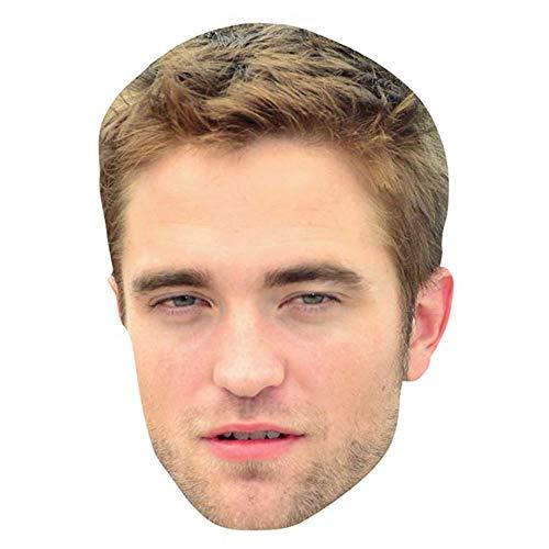 Robert Pattinson Celebrity Mask, Flat Card Face, Fancy Dress Mask