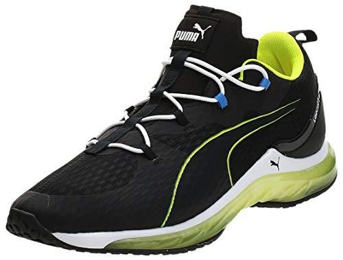 PUMA LQDCELL Hydra, Chaussure de Gymnastique Homme, Noir Black-Yellow Alert, 45 1/3 EU