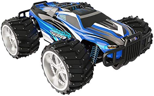 STOTOY Electric RC Car - Off-Road Remote Control Cars - RTR RC Buggy RC Monster Truck 1:16 4WD 2.4Ghz High Speed Indoor/Outdoor toy (Blue)
