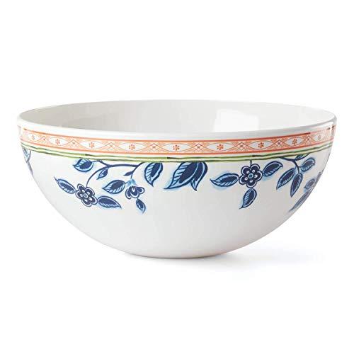 Dansk 888387 Northern Blossom Salad Bowl, 9-inch Diameter, Melamine