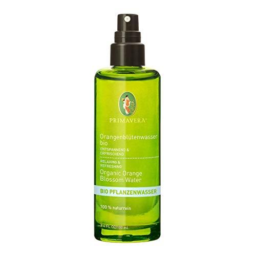 PRIMAVERA Pflanzenwasser Orangenblütenwasser bio 100 ml - Gute-Laune-Spray, Körperspray, Aromatherapie - beruhigend - vegan