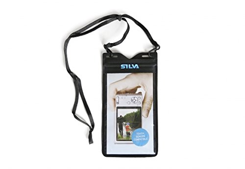 Silva Schneider 39010 Onderwatercamera, waterdichte beschermhoes voor camera's (thermoplastisch polyurethaan (TPU), zwart, 17 g)
