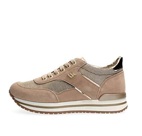 Lumberjack Like, Sneaker Donna, Avorio (Cream Carnum), 39 EU